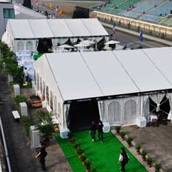 Exhibition Tents with heavy duty