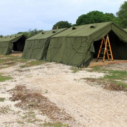 Military Canvas Tents
